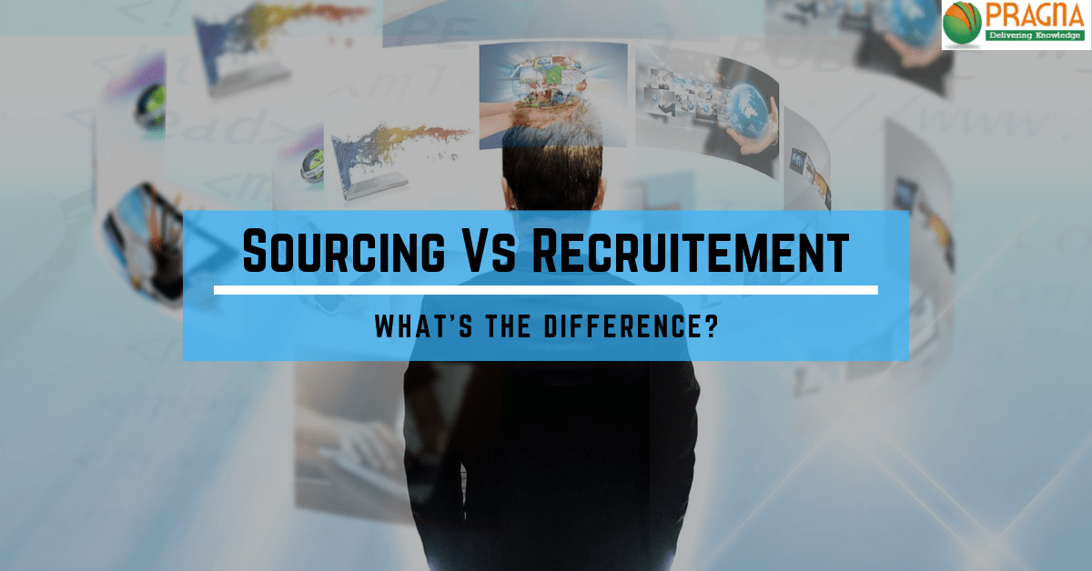 How is Sourcing different from Recruitment?