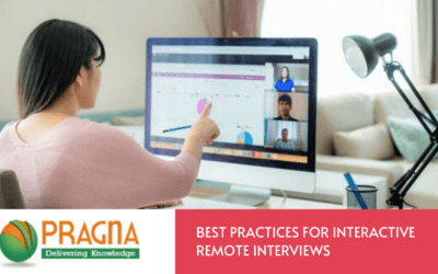 Best practices for interactive remote interviews