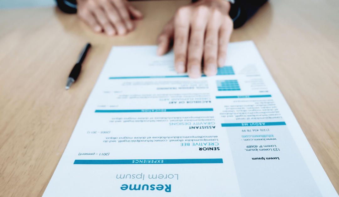 Tips to refresh your retro resume