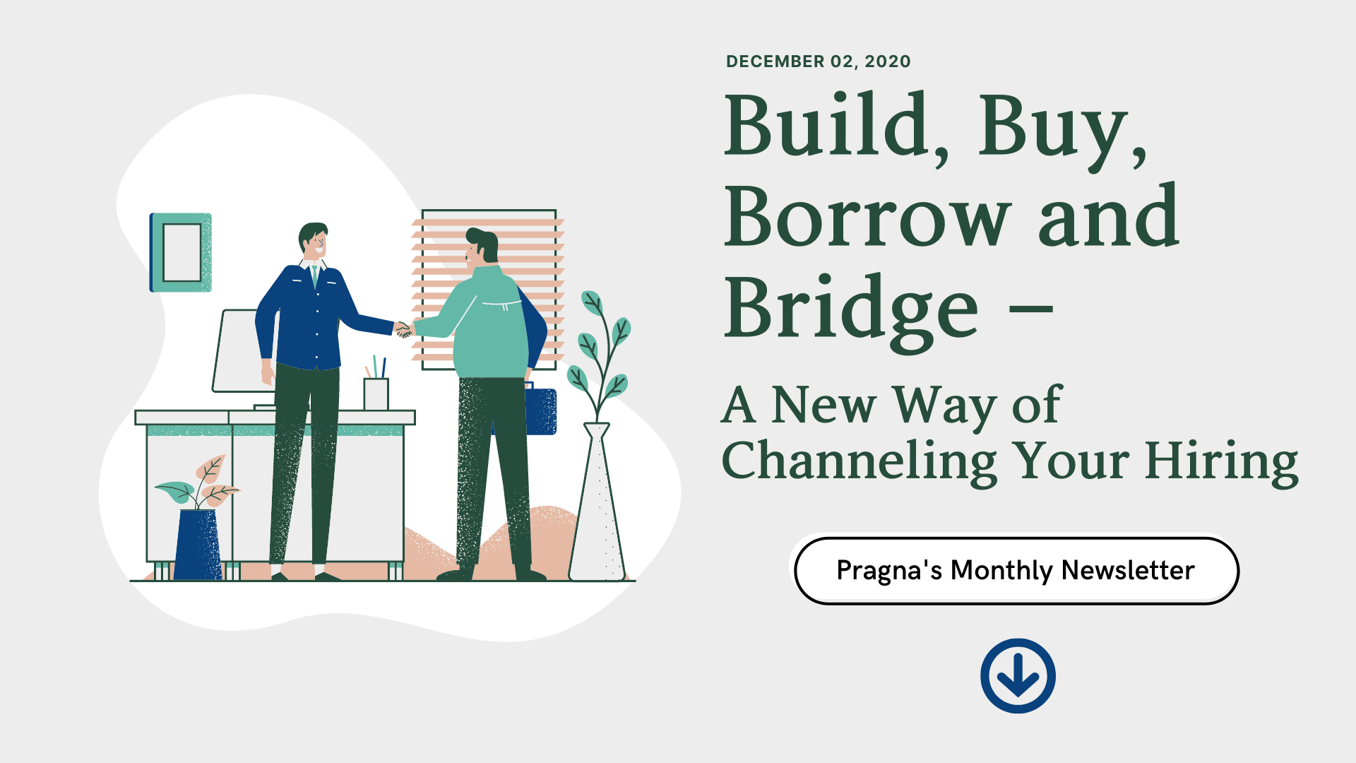 Build, Buy Borrow and Bridge